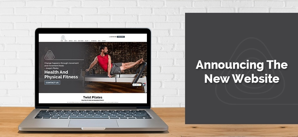 Announcing The New Website - Twist Pilates